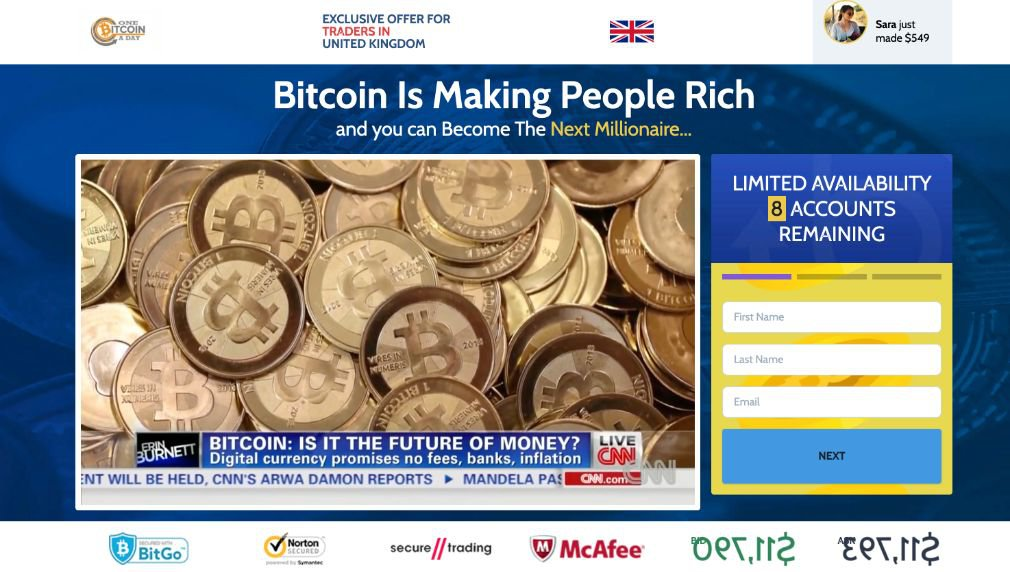 One Bitcoin a Day Review - Scam or is it legit?