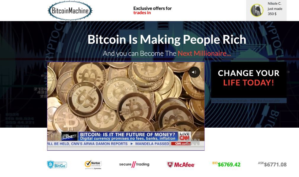 Bitcoin Machine Review